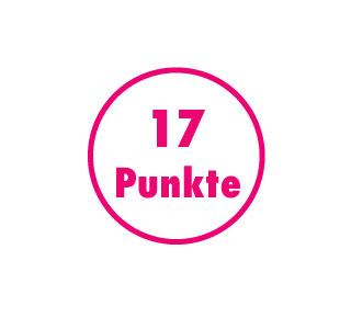 17 Punkte